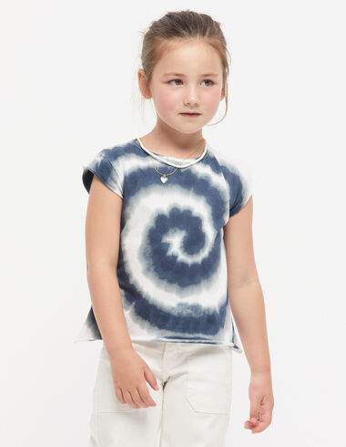 Camiseta tie dye azul - Ver todo > - Nícoli