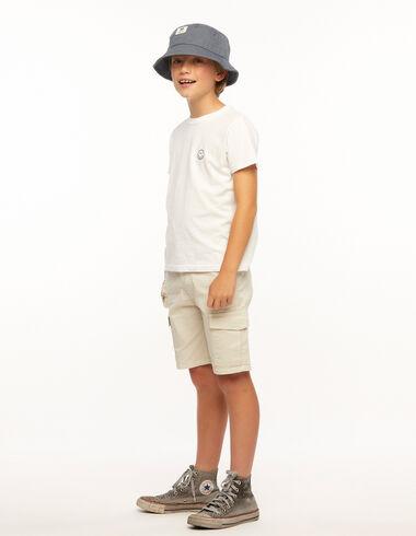 Camiseta smile blanca - Ropa - Nícoli