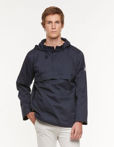 Abrigo corto capucha azul - Ropa de abrigo - Nícoli