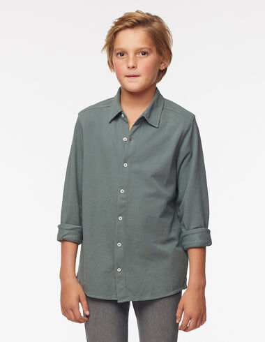 Polo camisero verde oscuro - Polos camiseros - Nícoli