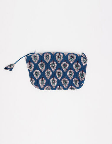 Blue leaves make-up bag - View all > - Nícoli