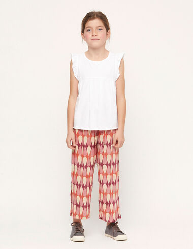 Strawberry drops trousers with slits - View all > - Nícoli
