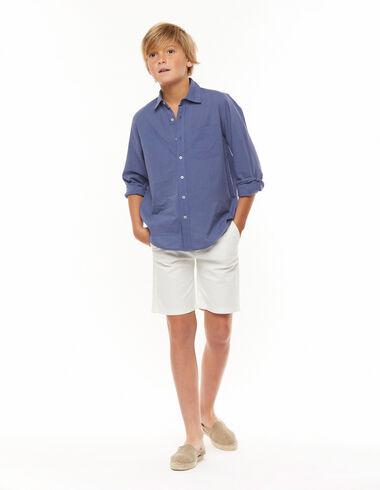 White chino shorts  - Shorts - Nícoli