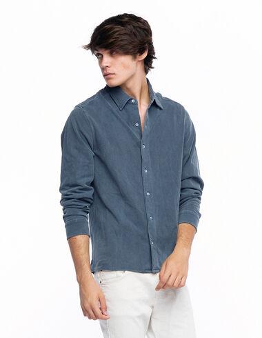 Polo camisero azul oscuro - Ver todo > - Nícoli