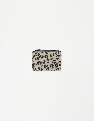 Off-white leopard print coin purse - New in - Nícoli