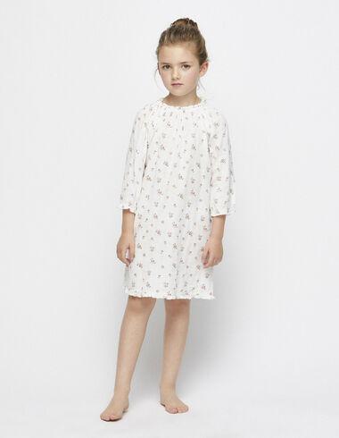 Pink flower print nightdress - Pyjamas - Nícoli