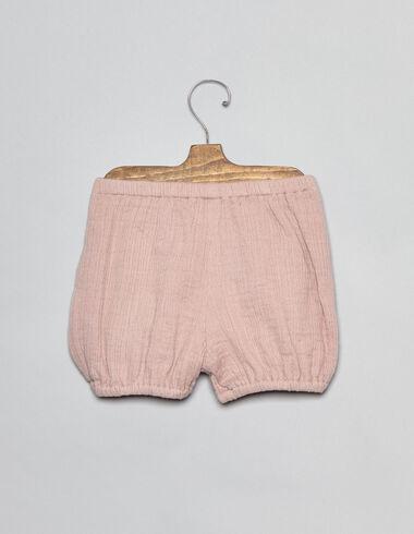 Bloomer rose pour bébés - Culottes - Nícoli
