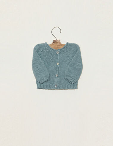 Light blue jacket with buttons - View all > - Nícoli