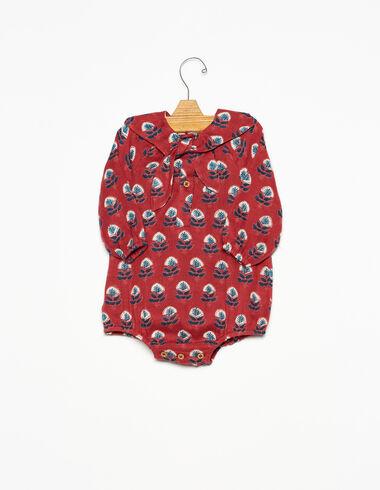 Barboteuse col foulard boutis chaudron - Voir tout > - Nícoli