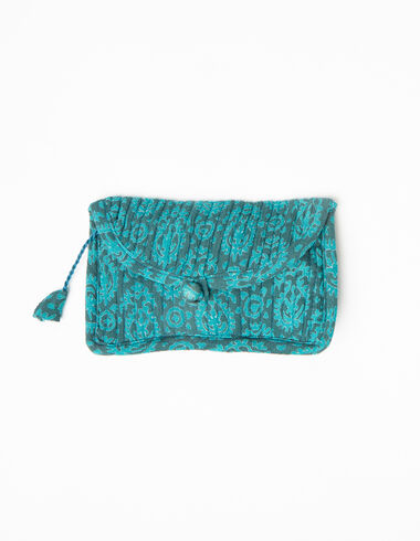 Green paisley coin purse - View all > - Nícoli