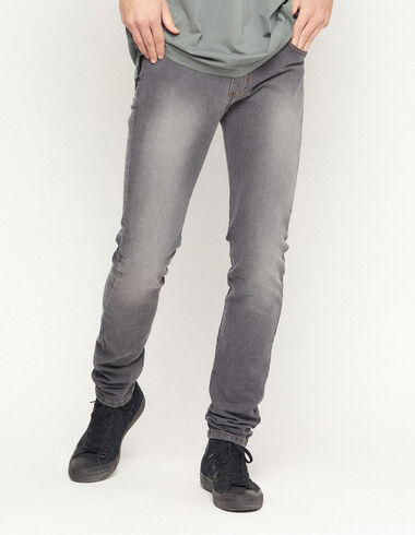 Grey skinny trousers - View all > - Nícoli