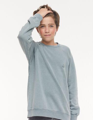 Sweat-shirt 'Nícoli' bleu - Voir tout > - Nícoli