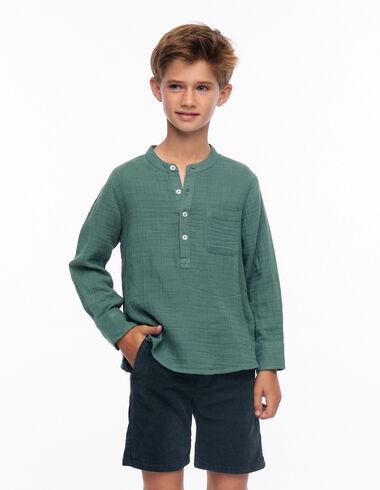 Camisa mao verde - Ver todo > - Nícoli