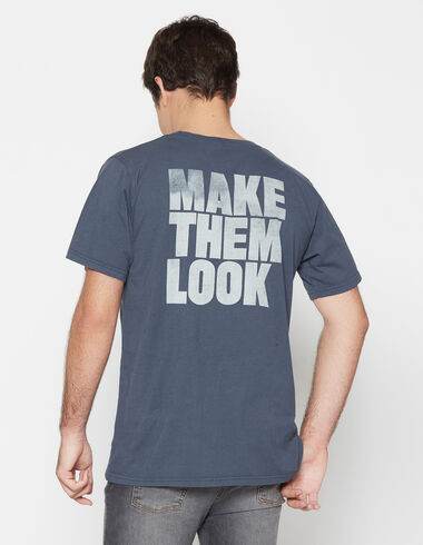 "Camiseta benéfica chico ""make them"" - Ver todo > - Nícoli"