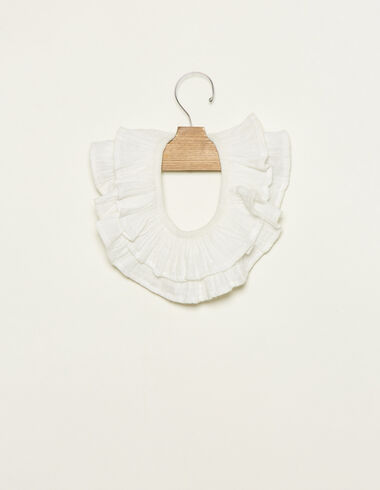 Ecru ruffle neck - View all > - Nícoli