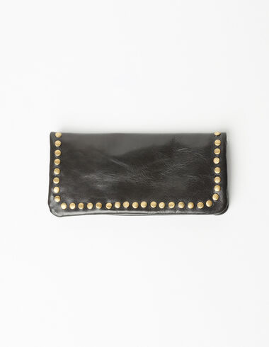 The 'N' Wallet in black - Coin purses - Nícoli