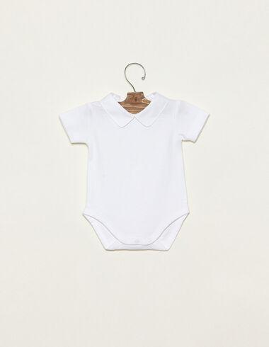 Body cuello bebé blanco - Ver todo > - Nícoli