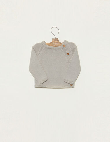 Mist jumper with buttons - Jumpers & Sweatshirts - Nícoli