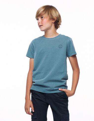 Light blue smile T-shirt - View all > - Nícoli