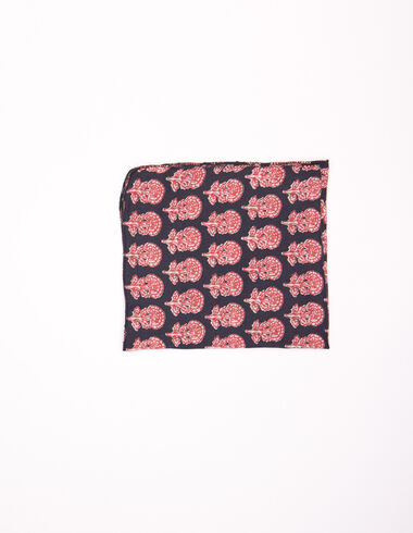 Anthracite floral buti scarf - Long Dresses for Summer - Nícoli