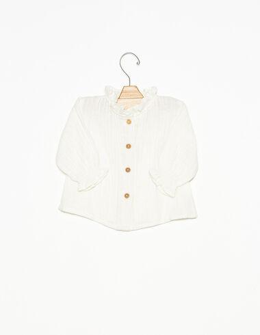 Camisa jaretas botones cruda - Ver todo > - Nícoli