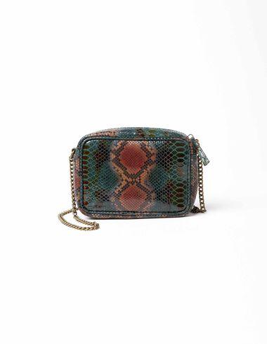 Green snake handbag - View all > - Nícoli