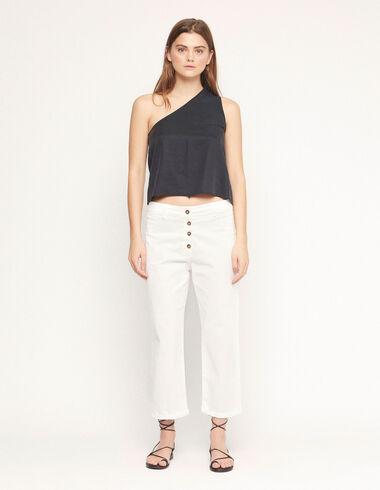 Pantalon à boutons blanc - Voir tout > - Nícoli
