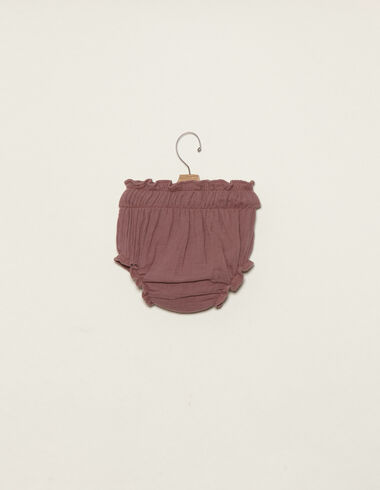 Berry cotton bloomers - Bloomers - Nícoli