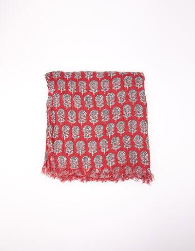 Pañoleta flor buti caldero - New Flower Print - Nícoli