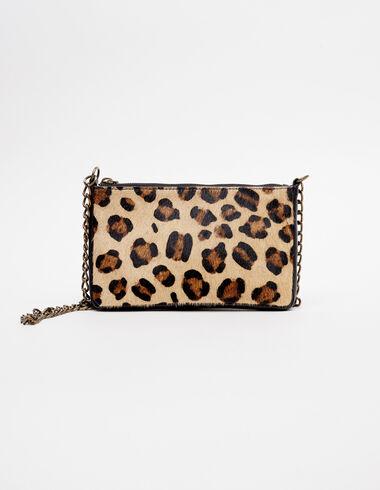 Sac rectangle léopard écru - Voir tout > - Nícoli