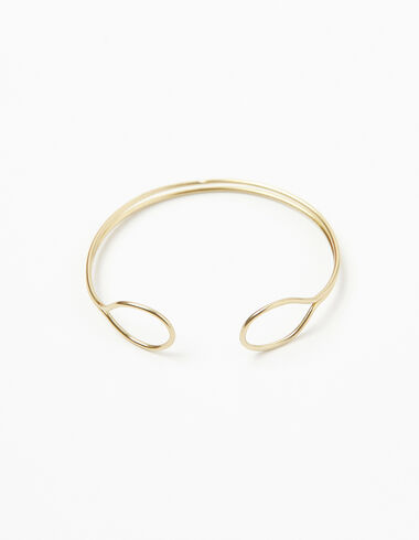 Gold circle bracelet - Bracelets - Nícoli