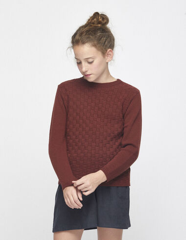 Girl´s earth texture jumper - Jumpers & Sweatshirts - Nícoli