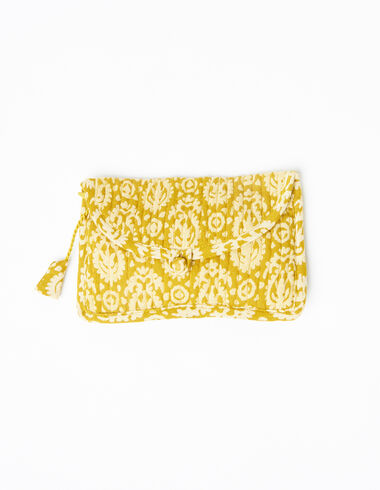 Mustard paisley coin purse - View all > - Nícoli
