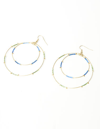 Pendientes Double Circle - New in - Nícoli