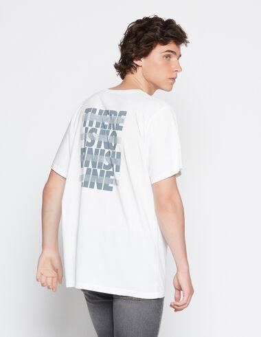 """T-shirt solidaire """"who what where"""" pour garçons - Voit tout > - Nícoli"""
