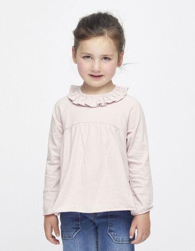 Pink ruffle top - Clothing - Nícoli