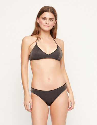 Black lurex bikini - View all > - Nícoli