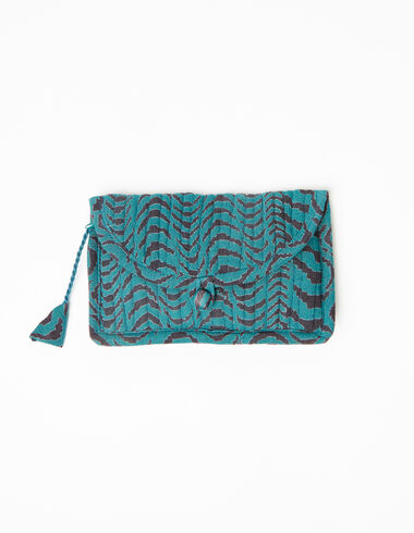 Green zebra coin purse - View all > - Nícoli