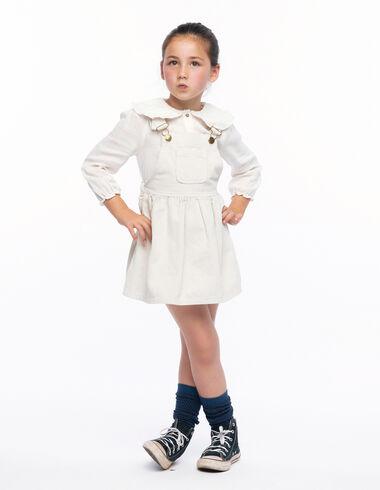 Pichi pana crudo - Skirts for girls! - Nícoli