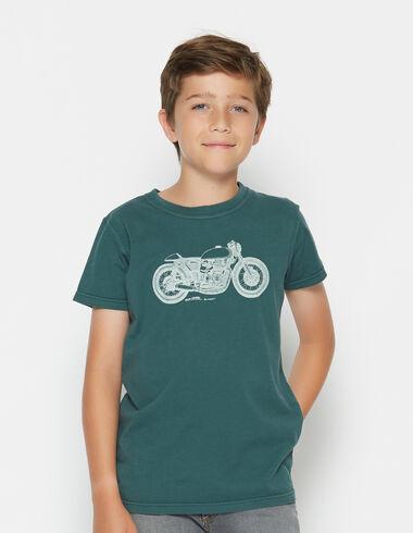 T-shirt solidaire manches courtes «moto» pour petits garçons - Voir tout > - Nícoli