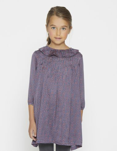 Girl's copper knit dress - View all > - Nícoli