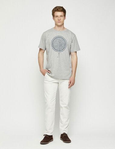 Pantalon chino en velours écru - Voir tout > - Nícoli