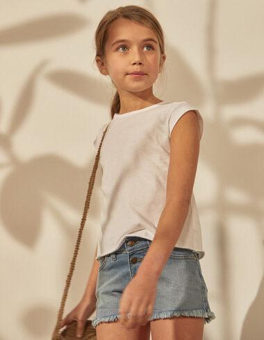 Girl's denim shorts - Shorts - Nícoli