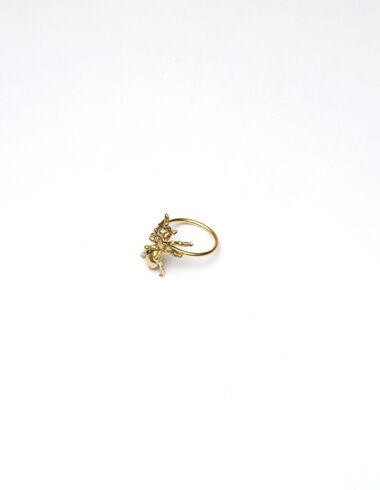 Ant Ring' dorado - Golden Collection - Nícoli