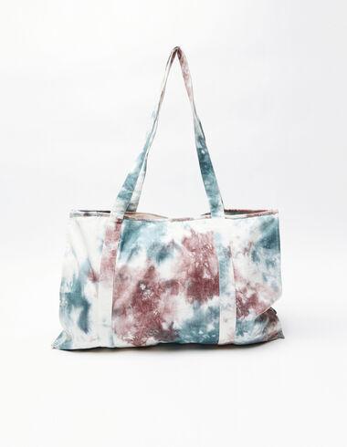 Grand sac tie-dye bleu - Swimwear Collection - Nícoli