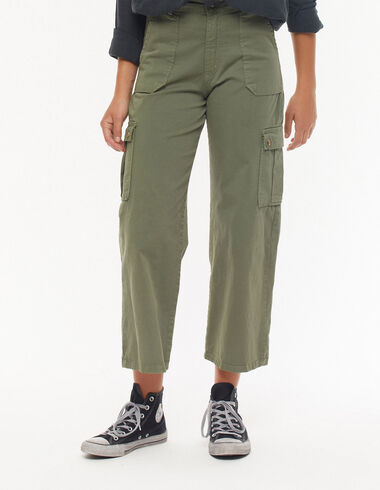 Khaki green cargo pants - New in - Nícoli