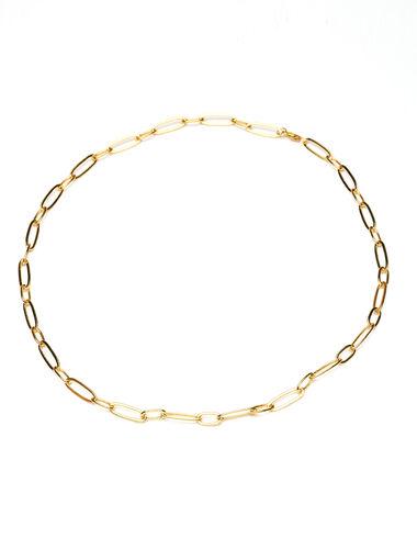 Collar largo eslabones dorados - Golden Collection - Nícoli