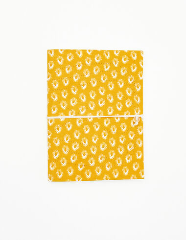 Mustard leaf print notebook - View all > - Nícoli