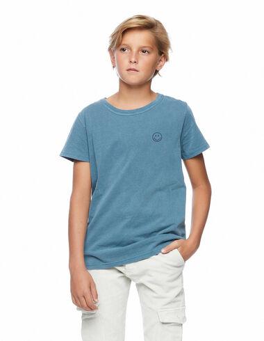 Camiseta smile azul claro - Ver todo > - Nícoli
