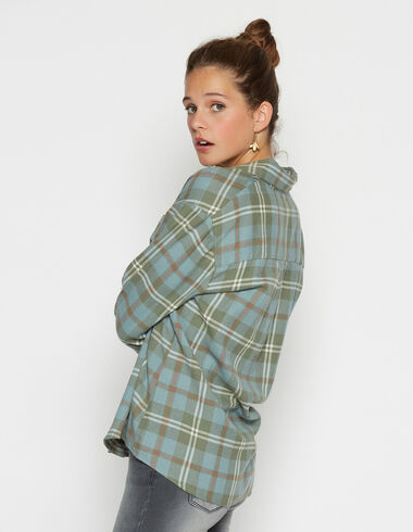 Camisa chica cuadro verde - Ver todo > - Nícoli